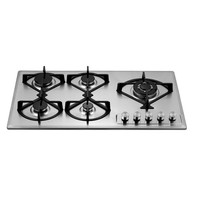 900 MM hob with cast iron pan support built in gas appliance