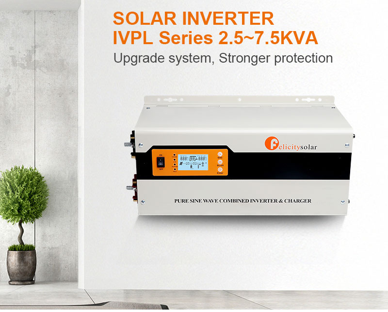 Felicity Solar Inverter 5KW off Grid Tied Single Phase For Solar Power System