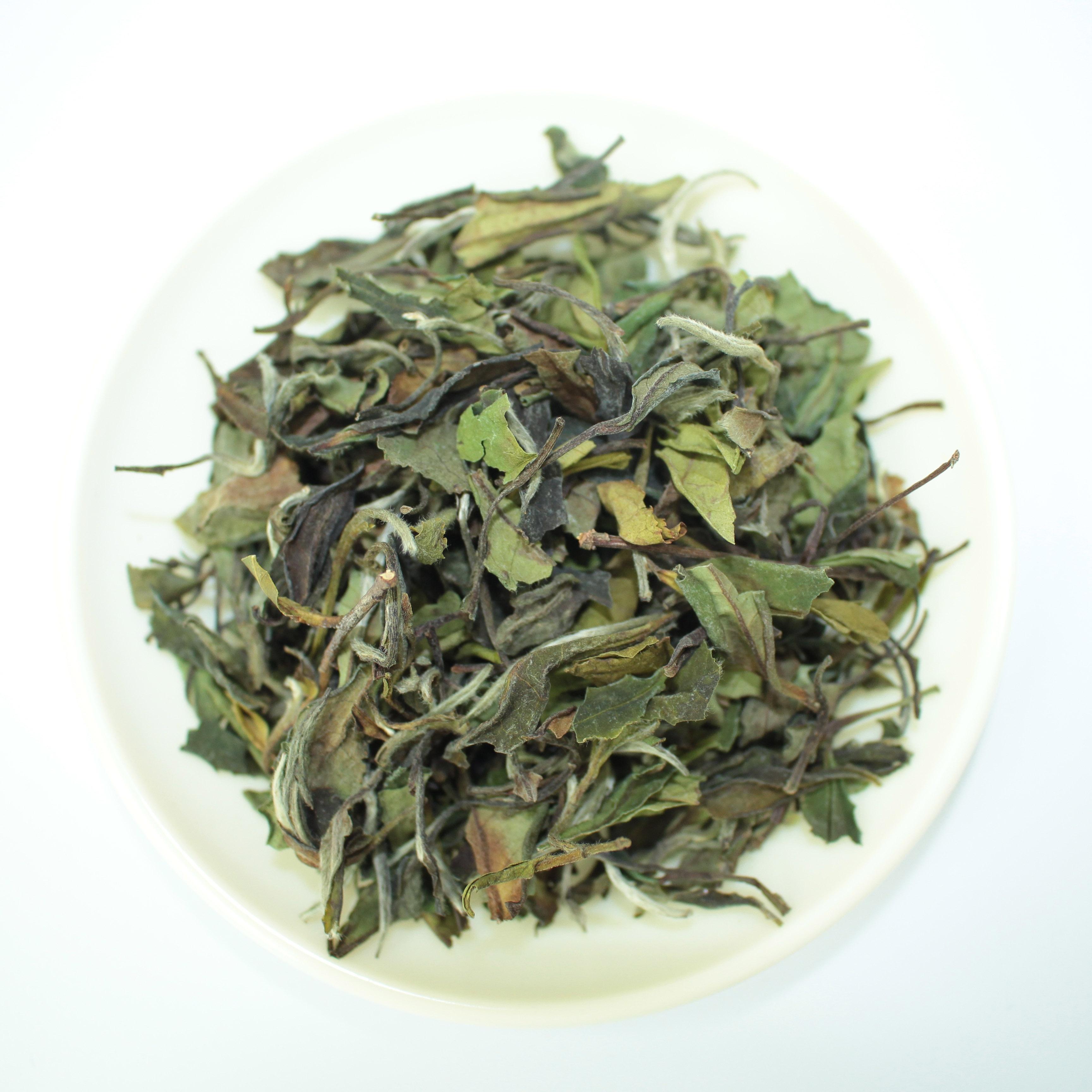Chinese white tea Organic loose leaf white peony Bai Mu Dan - 4uTea   4uTea.com
