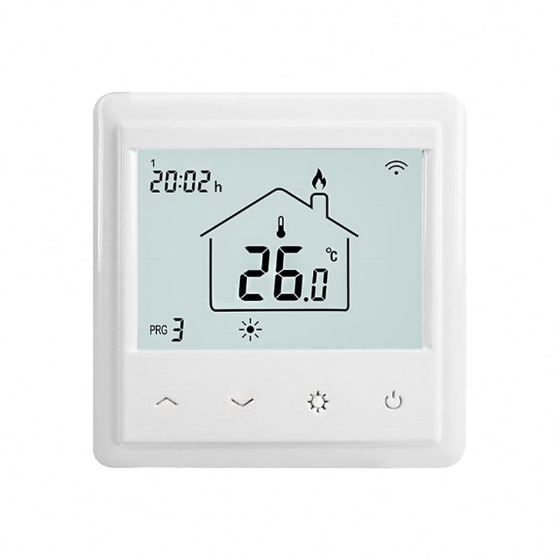 Wall flush mounted electric heater baseboard thermostat wifi and room heating temp regulator