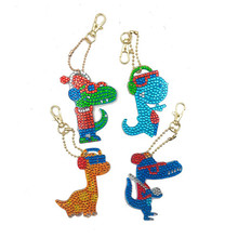 Брелок для ключей HUACAN, алмазная вышивка в специальной форме, мозаика, аксессуары в подарок(Китай)