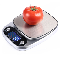 Pinxin stainless steel 5kg digital food scale electronic kitchen scale household weighing scale