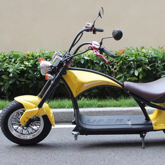 Europe warehouse,Two Wheel 2000w Citycoco Scooter, 60V Lithium Battery Self Balancing Electric Citycoco EEC certificate