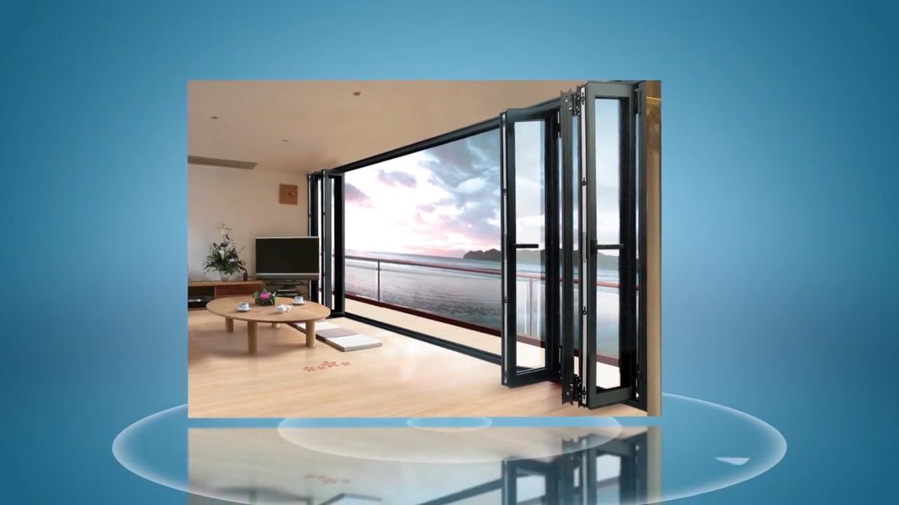 고품질 제품 보증 방음 알루미늄 유리 Windows 음영 보안 접이식 창