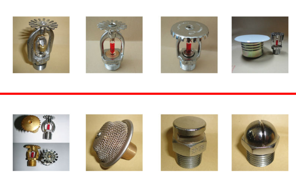Open Type Fire Sprinkler Head Chrome Plating Sprinkler