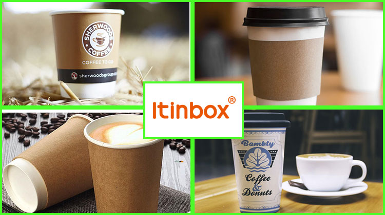 All Size Custom Available Disposable Double Wall Coffee Paper Cup With Lid  Wholesale China