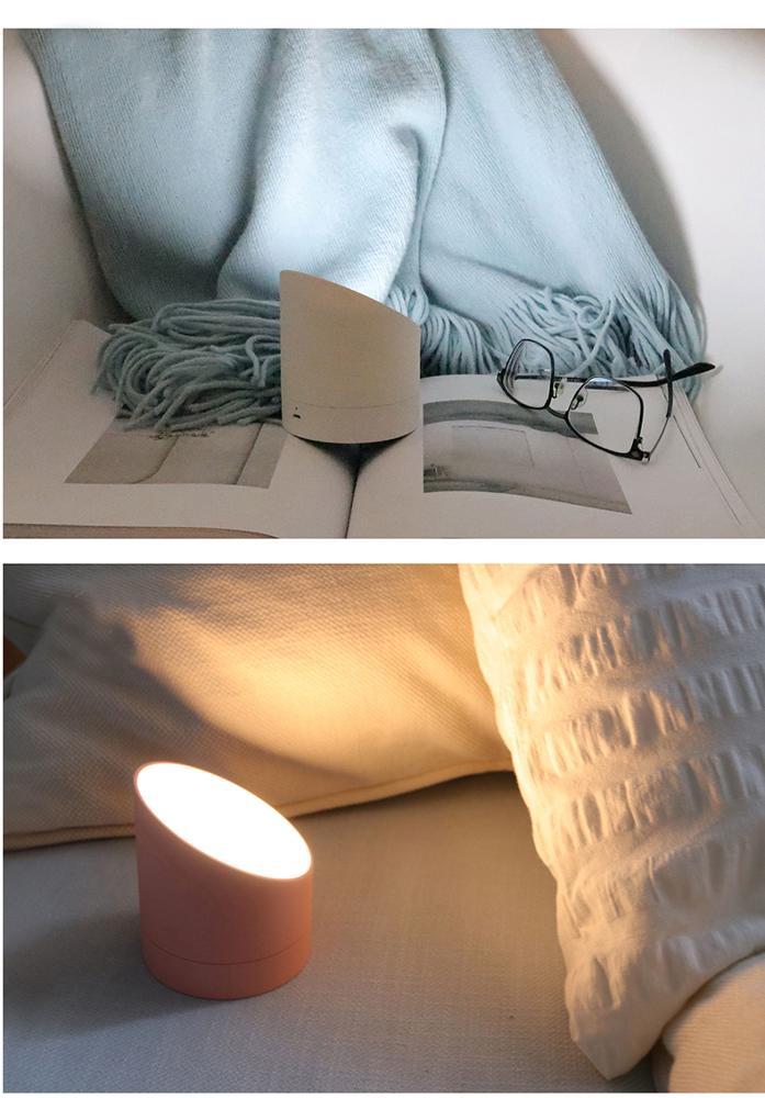 Modern alarm clock and night light USB charge digital desk table bedside lamp for kids hotel bedroom living room