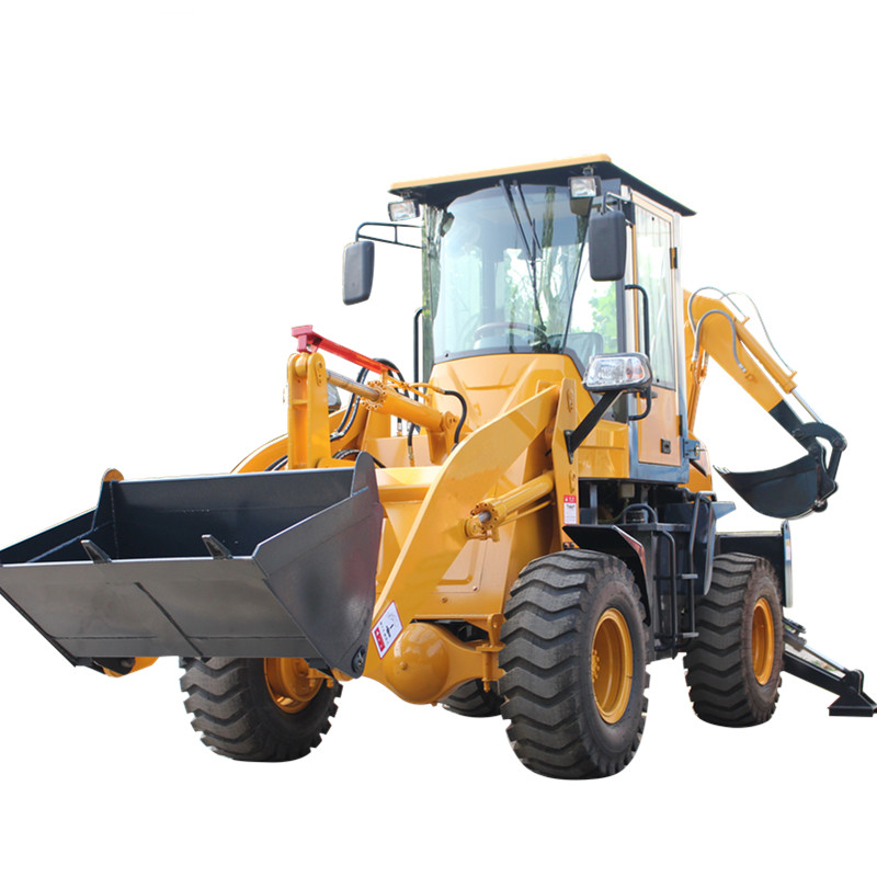 china factory direct sale not used mini backhoe loader self feeding machine