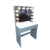 French White Wooden Stand LED Dressing Table Home Furniture Dresser With Mirror