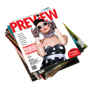 Softcover Fashion Magazine Printing for Leisure