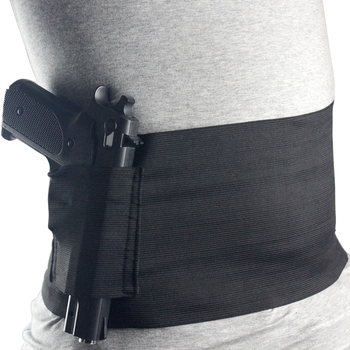 Kosibate Tactical Belly Band Holster Concealed Carry Pistol Universal Adjustable Elastic Gun Holster