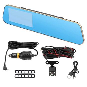 Wholesale Rear-view Car Camera Digital Video Recorder Dvr Dual Rearview Mirror