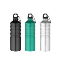 2019 hot selling Portable Promotion Water bottle Aluminum Sports Bottle with Custom Logo