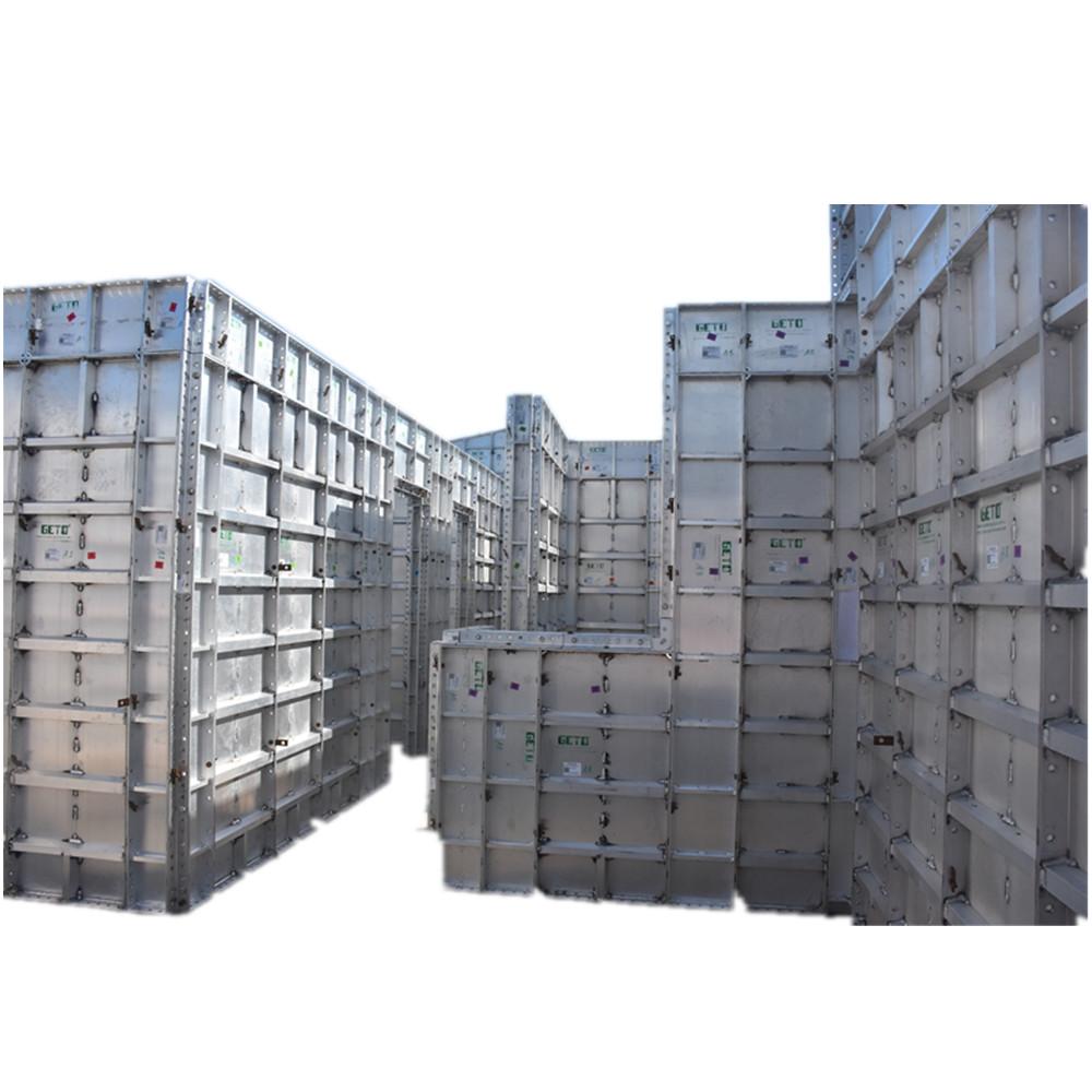 Geto yüksek kaliteli alüminyum levha kalıp inşaat paneli beton kalıp