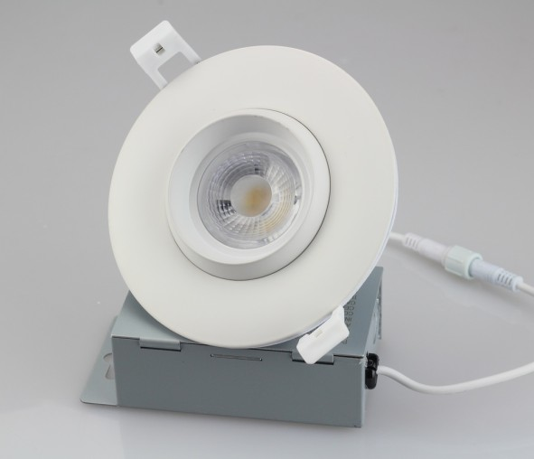 3 Inch 8w 4inch 12w  Adjustable Kingliming Gimbal dimmable Slim Down Light ETL Energy Star with ic rated junction box