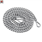 Handbag Replacement Silver Chains Metal Bag Straps Bag Chains Accessories for Lady's Bag Handbags