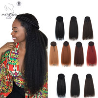 "Wholesale Long Drawstring Ponytail 18""- 26"" Kinky Straight Ponytail Synthetic Clip in Pony tail Hair Extensions False Hair"