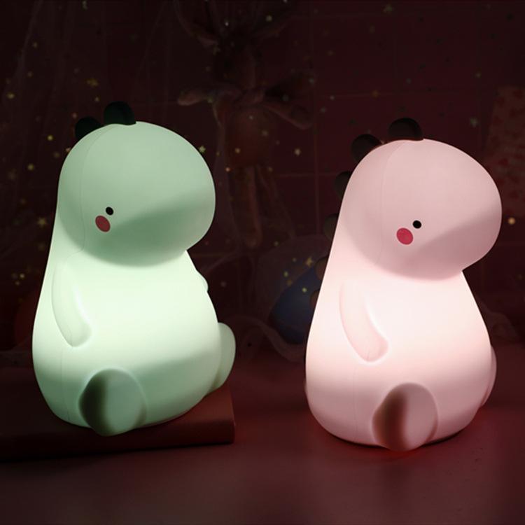 Dinosaur Night Light Lamp Girls Novelty Magical Light for Kids Gift Bedroom Party Birthday Decorations