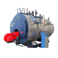 Diesel steam boiler 10t/h light oil fired food processing steam boiler