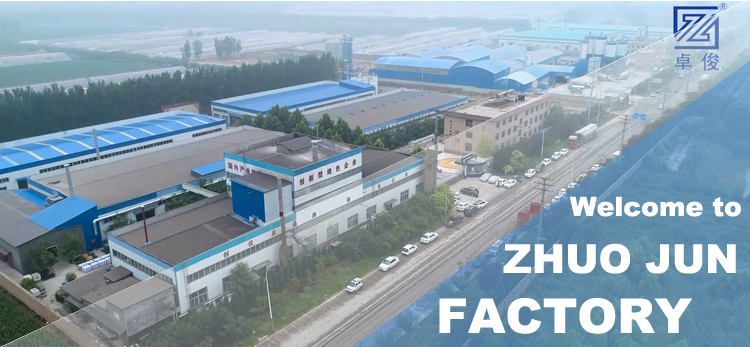 New ZHUOJUN Factory