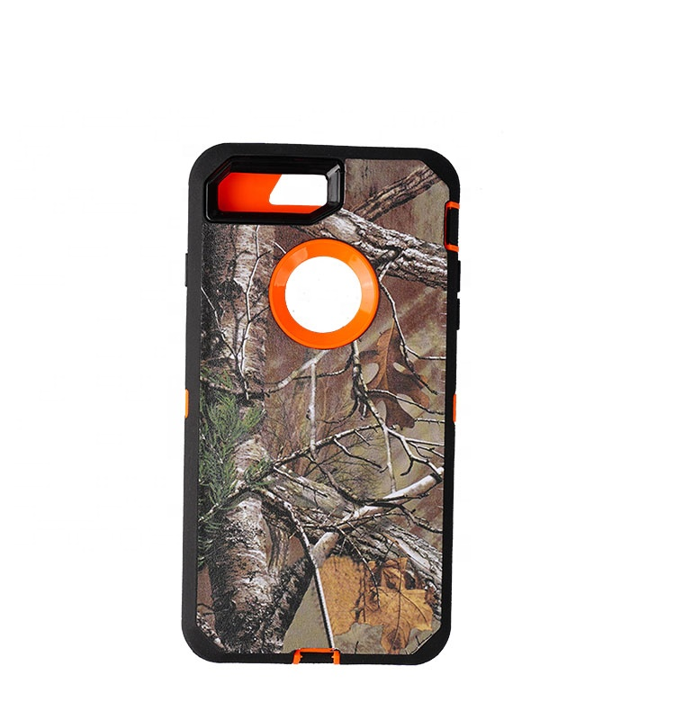 Heavy duty camouflage defender phone cover <strong>case</strong> For IPhone 5c