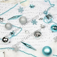 Colored Shatterproof Tree Hang Balls Decor Wholesale glowing Clear 10cm glass christmas balls