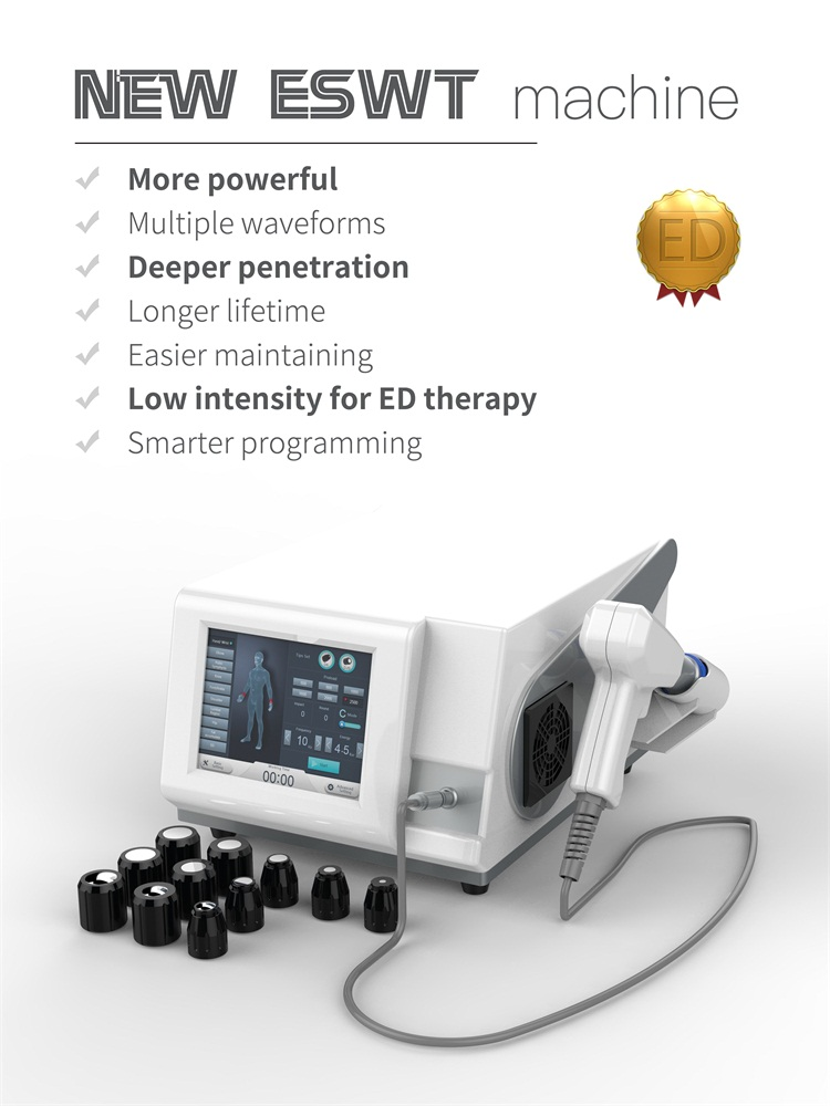 Dazzles Manufacturer Physical Shockwave ED Pain Treatment Therapy Medical Device Shock Wave