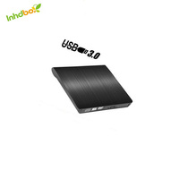 INHDBOX gift popular portable dvd rom DC 5V cd player usb 3.0 Portable extern dvd reader external dvd rom