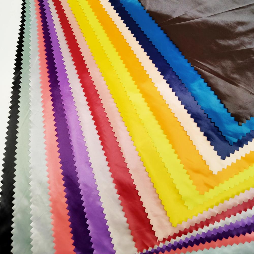 Factory Price Spot Goods Waterproof 100% Nylon 380T Nylon Taffeta Fabric