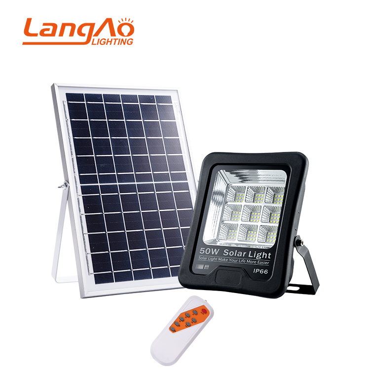 Most powerful with ce rohs waterproof ip66 outdoor IP66 50w 100w 200w solar led <strong>flood</strong> light