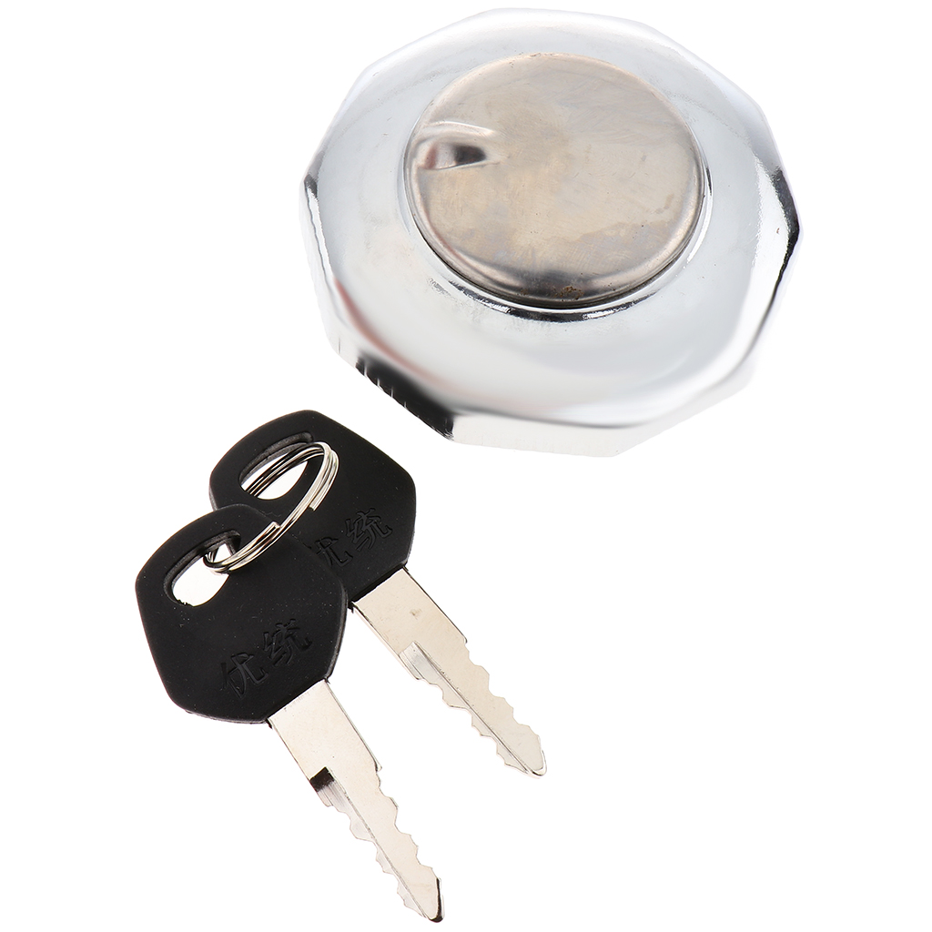Motorcycle Fuel Gas Tank Locking Cap Durability for Honda JH70 JH 70 70cc Spare Parts