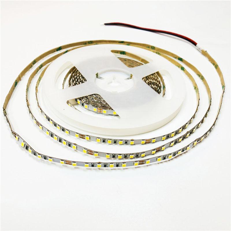 Factory price flexible led strip light 24V SMD2835 120led per meter 5mm led tape light