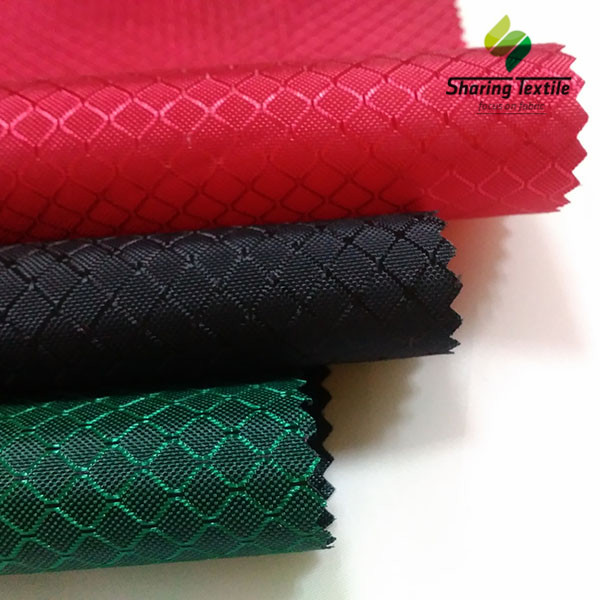 Wholesale 210D Or 420D Nylon And Polyamide Dobby OR Jacquard Hexagon Or  Honeycomb &Nylon Nest &Comb Dobby Army Bag Fabric