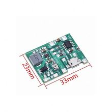 A13 -- Lithium-Li-Ion 18650 3,7 V 4,2 V Batterie Ladegerät Bord DC-DC Step Up Boost Modul TP4056 DIY Kit <span class=keywords><strong>teile</strong></span>