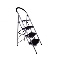 2-6 Steps Steel Ladders Household Step Ladder Unilateral Herringbone House Ladder
