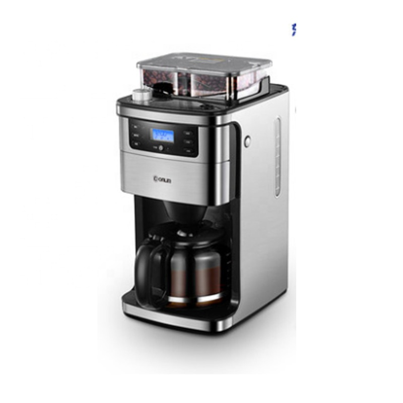 Home Use Small Automatic Coffee Machine, Fresh Coffee Pot Grinding Machine