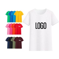 Blank 100% cotton T-shirt tshirts for men printing printed t-shirts t-shirt design logo