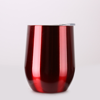 Mikenda Small MOQ double 304 stainless steel wine cup 8oz 12 oz insulated wine tumbler 30 oz stainless steel tumbler
