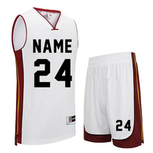 College Basketball-Training Anzüge Günstige Custom Basketball Uniformen Männer Sport Kleidung Sets DIY Basketball Jersey Set