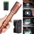 Torch Light China Wholesale Good Quality High Bright Led Flashlight Torch Waterproof White Light