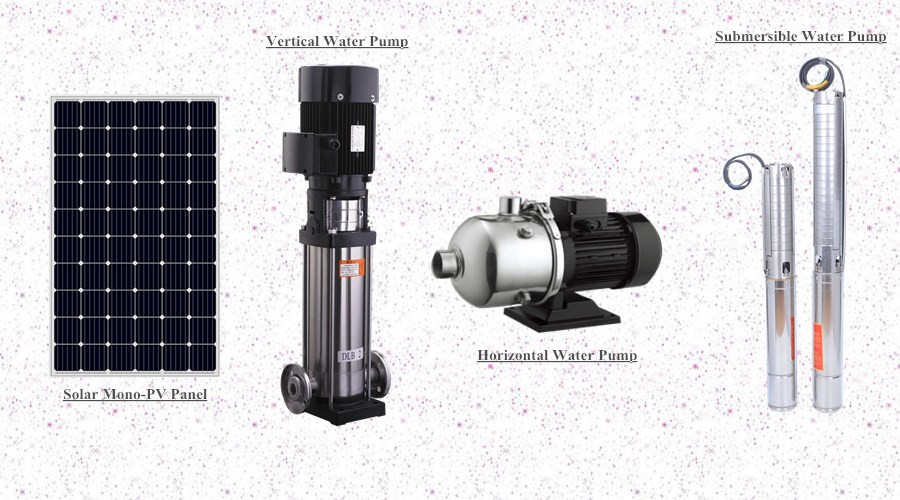 0.5HP-150HP High Efficiency Low Price Solar Vertical Centrifugal Water Pump for irrigation