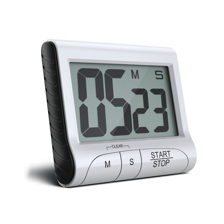 Large LCD Mini Electronic Kitchen Timer For Home Use