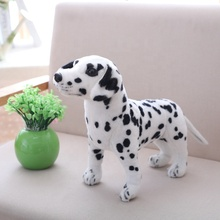 Carino <span class=keywords><strong>Peluche</strong></span> Dalmata <span class=keywords><strong>peluche</strong></span> realistico animale <span class=keywords><strong>cane</strong></span> chiazzato