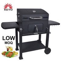 2019 New Designs European German Large Outdoor Garden Heavy Duty Machine Charcoal Barbecue Grills