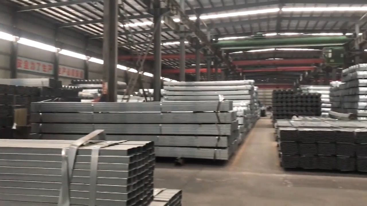 Wholesale hot dipped galvanized oval shaped steel pipe