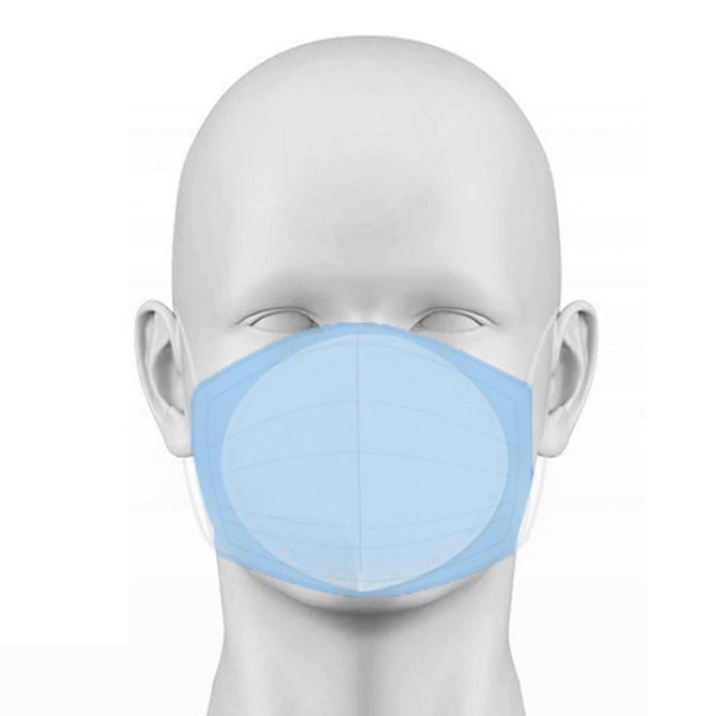50pcs Disposable Non-Woven Cloth Mask Replacement Mat Dustproof Pads Insert Dust Filter for ffp2 ffp3 N95 Face Masks