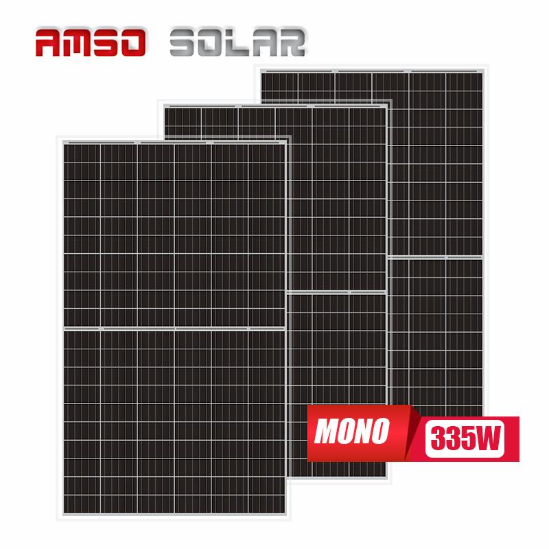 Wholesale customized 310watt Mono Photovoltaic Module 310w half cell panel solar 310 watt solar panel