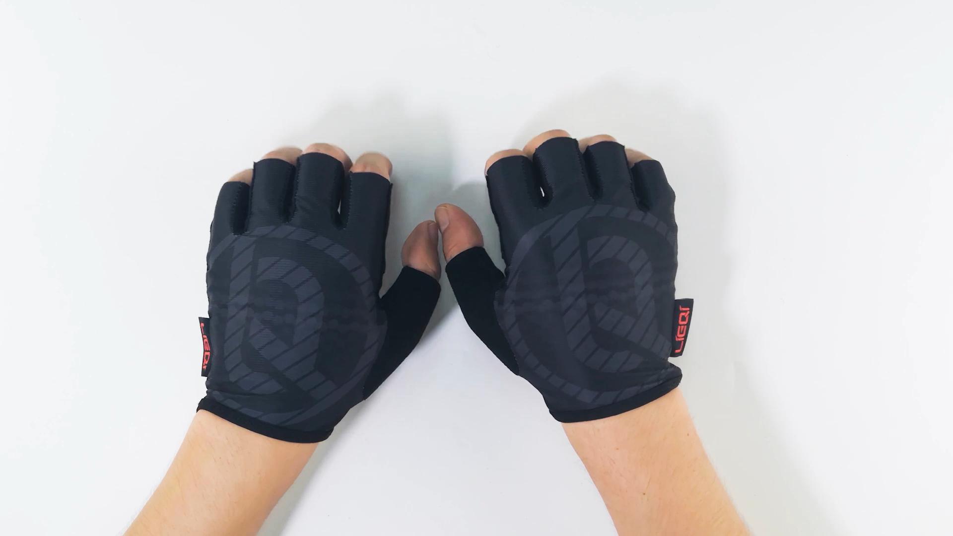 2021 high quality bike fingerless gloves cycling gel gloves for sale