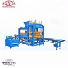 QT6-12 HFB5115A Price Paver Molds Compressed Brick Concrete Block Carrier New Products Interlocking Brick Machine
