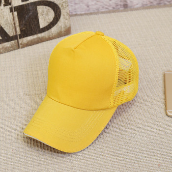 Blank customised twill cotton promotional 5-panel mesh Sports+Caps